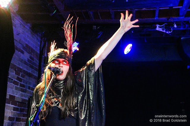 Le Butcherettes at Velvet Underground on August 18, 2018 Photo by Brad Goldstein One In Ten Words oneintenwords.com toronto indie alternative live music blog concert photography pictures photos