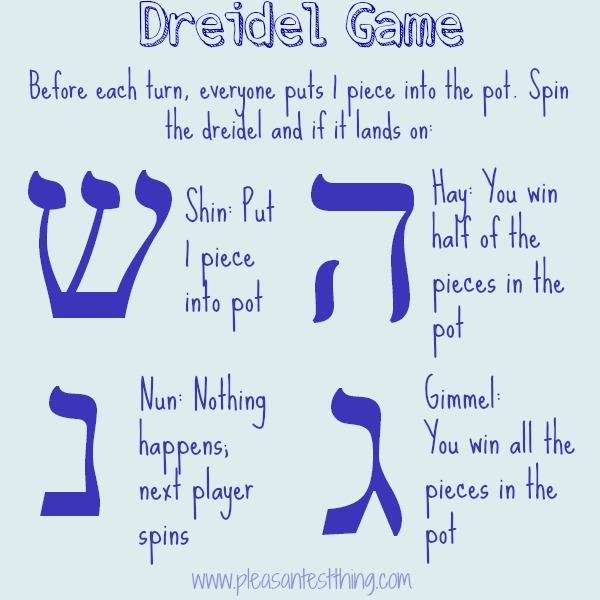 Dreidel rules