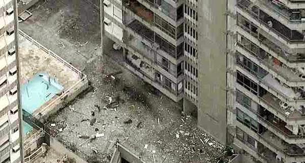 EXPLOSÃO CAUSA DESTRUIÇÃO EM APARTAMENTOS DE SÃO CONRADO, NO RIO – VEJA FOTOS