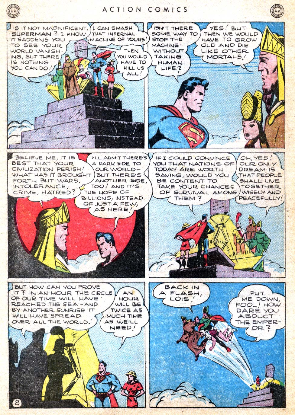 Read online Action Comics (1938) comic -  Issue #103 - 10