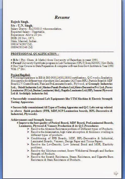cv form pdf