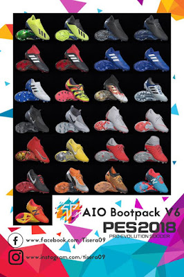 PES 2018 Bootpack AIO v7 by Tisera09