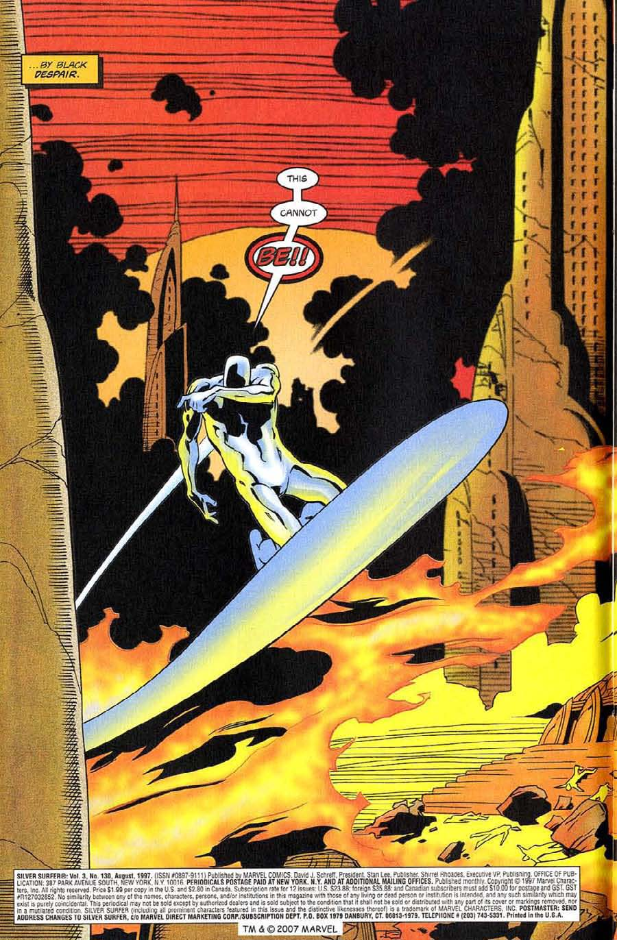 Read online Silver Surfer (1987) comic -  Issue #130 - 6