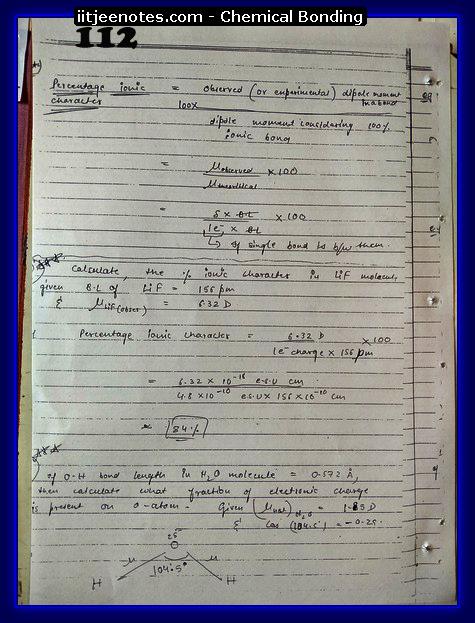 Chemical-Bonding Notes class 11-16