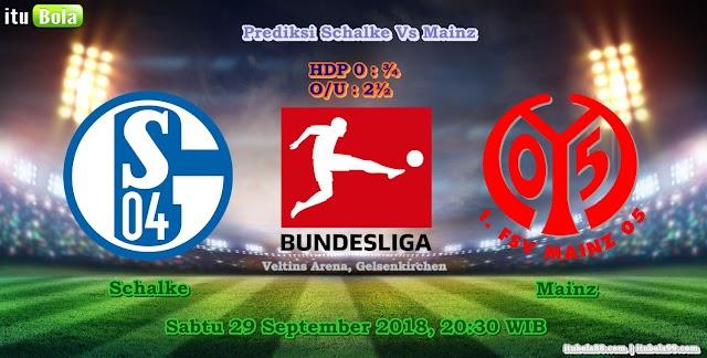 Prediksi Schalke Vs Mainz - ituBola