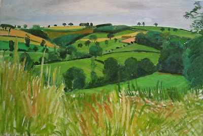 David Hockney, Bugthorpe Valley