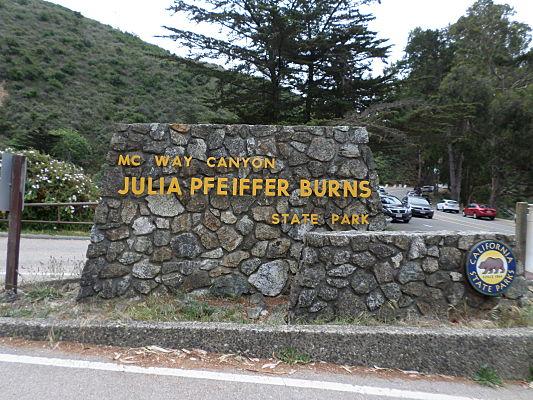 cachoeira big sur california