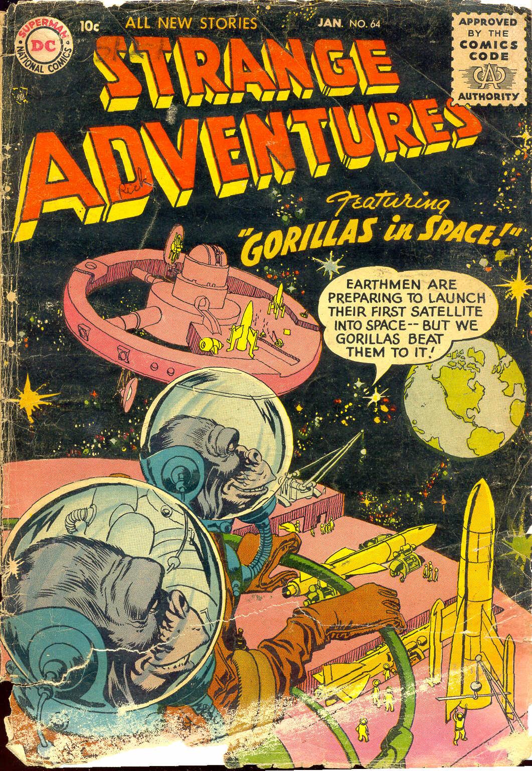 Strange Adventures (1950) 64 Page 1