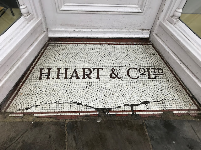 H.Hart & Co Ltd., Doorway mosaic, Canterbury, Kent
