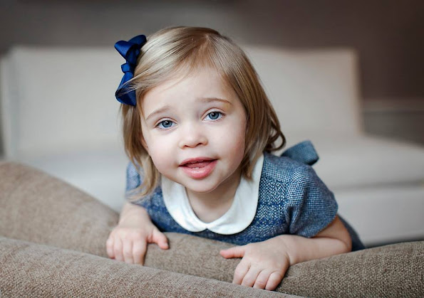Daughter of Princess Madeleine of Sweden and Christopher O'Neill, Princess Leonore of Sweden celebrates her 2nd birthday. Swedish Royal Palace published a new photos of Princess Leonore on the occasion of the birthday and opened a congratulation form page on the Royal website for everyone who wants to congratulate the Princess