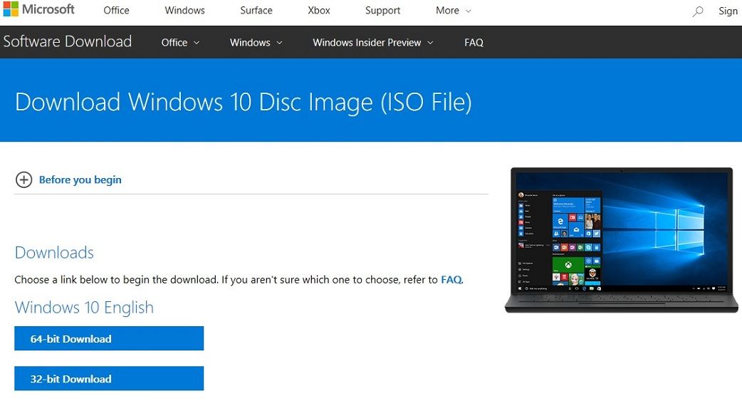 Windows 10 May 2019 Update 1903 / 18362 x86 x64 ISO Direct Download