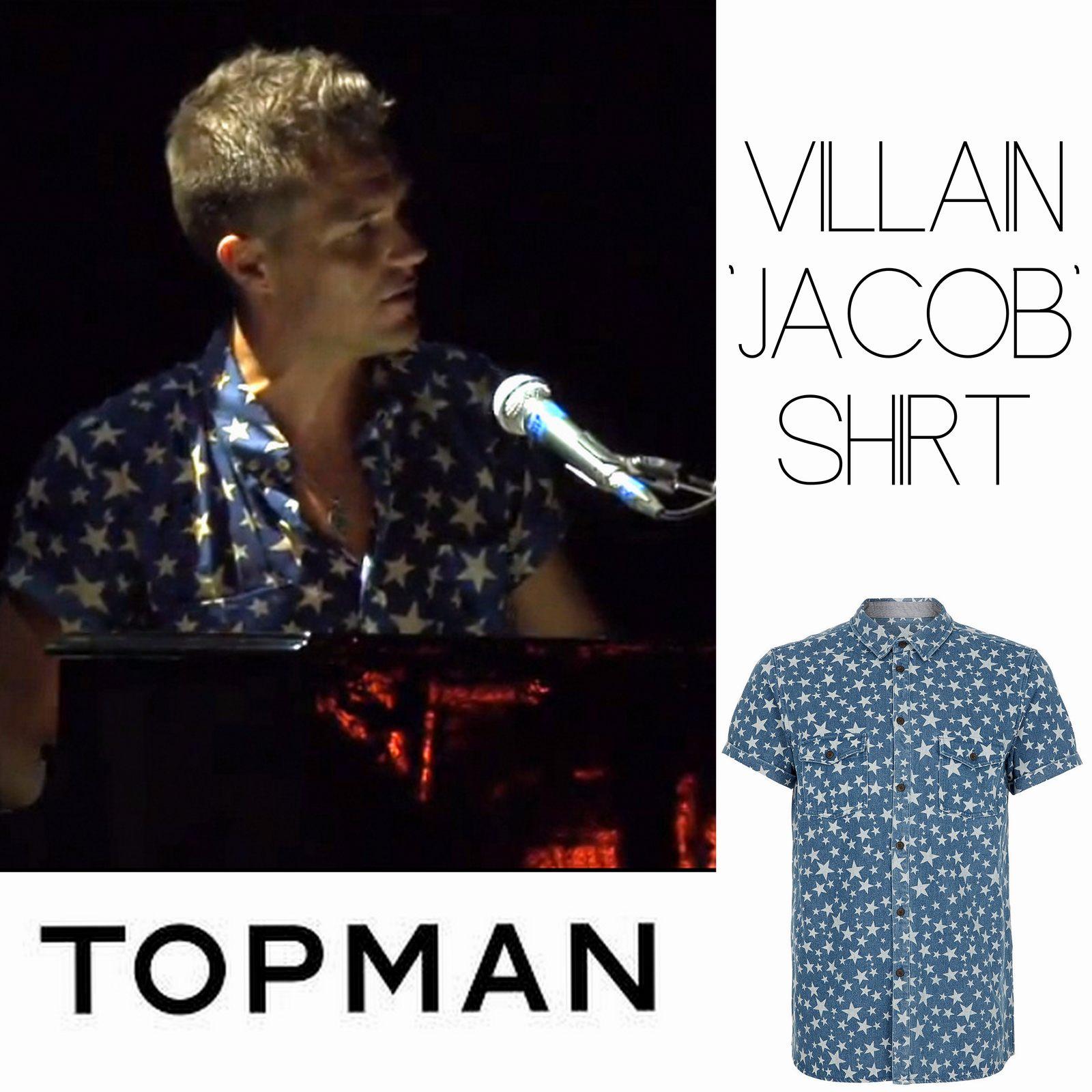 "Brandon Flowers y su Villan ""Jacob"" Shirt de Topman en"