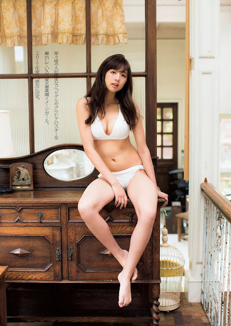 Kumae Rui 熊江琉唯 Weekly Playboy Dec 2016 Images