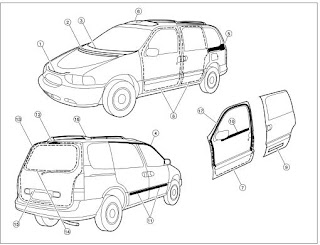 repair-manuals: Nissan Quest V41 2000 Repair Manual