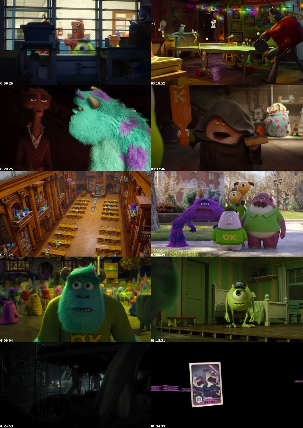 Monsters university 2013 bluray 720p mkv details a look at the relationship between mike and sulley during their days at monsters university when they werent necessarily the best of friends voltagebd Images