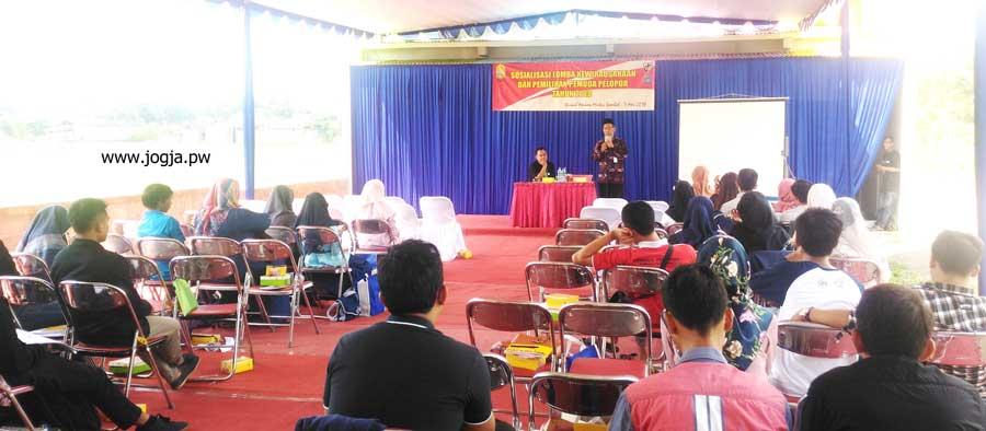 Disnakertans Kab. Bantul Sosialisasikan Lomba Kewirausahaan dan Pemuda Pelopor 2018