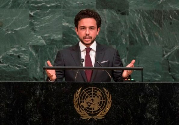 Round-up of the royals at the United Nations, Prince Hussein