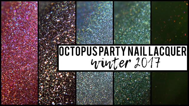Octopus Party Nail Lacquer | Winter 2017