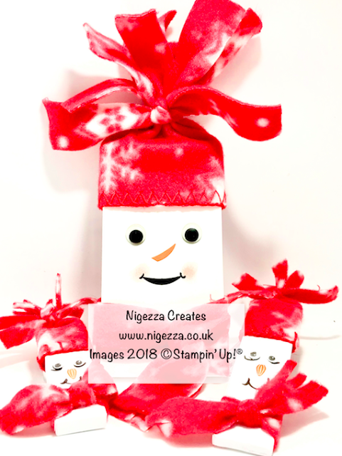 Craft Fair Idea: Snowman Chocolate Bar Nigezza Creates