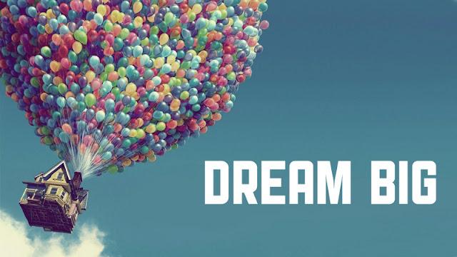 sebuah mimpi yang besar akan menghantarkan flux design sebuah keberhasilan