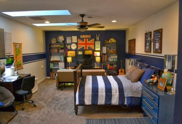 Tween Boy Bedroom Makeover