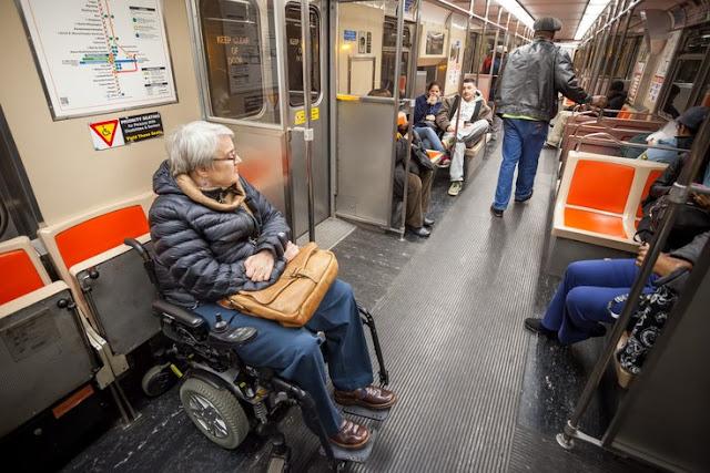 Transporte para deficientes físicos na Filadélfia