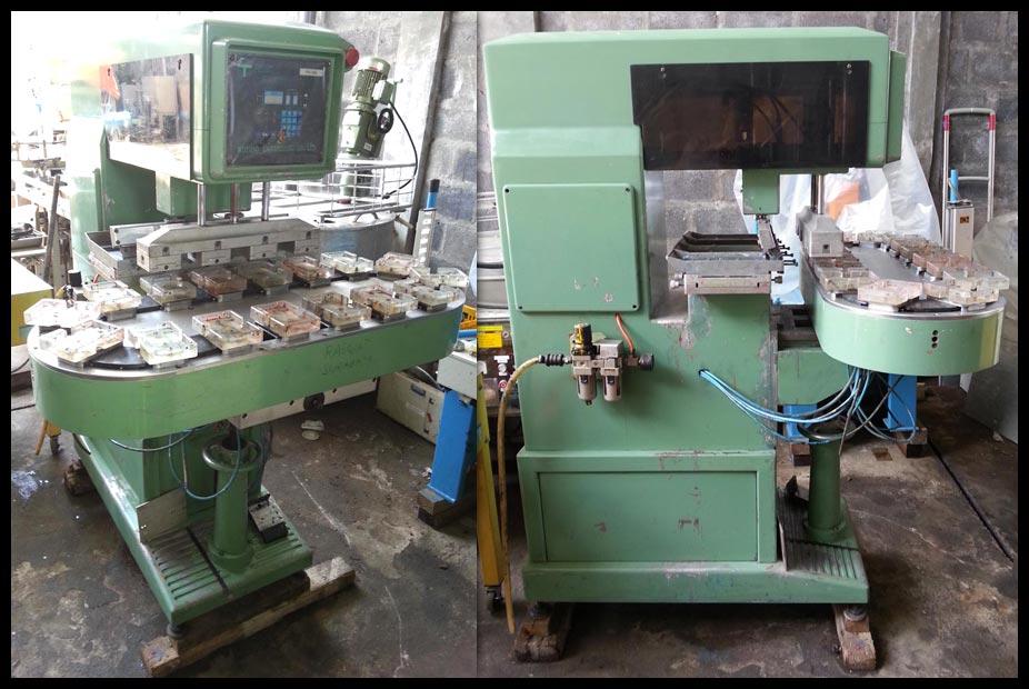 2nd MACHINE: Automatic Pad Printing Machine, 4 Color, PM-398