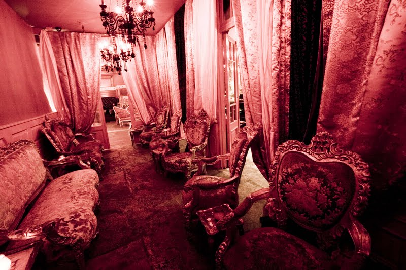 braxton and yancey Moulin Rouge Room Dcor  Bordello
