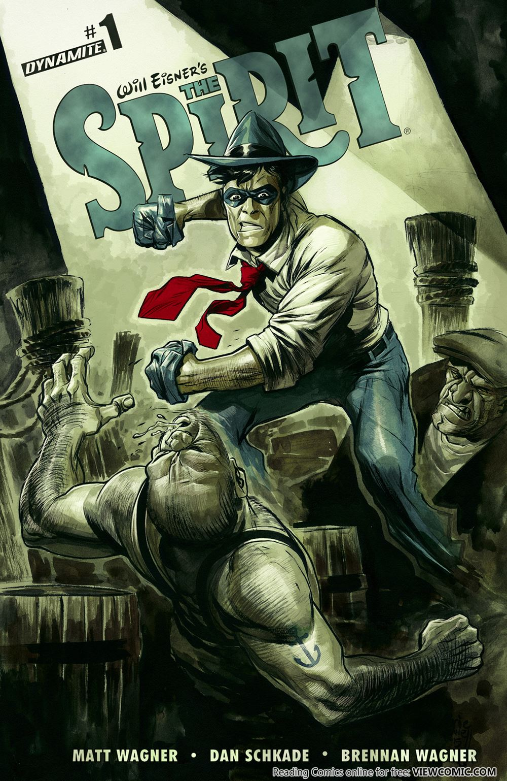Will Eisner's The Spirit | Viewcomic reading comics online for free 2019