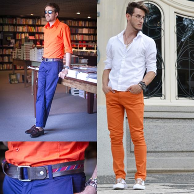 calça laranja masculina (1)