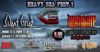 Heavy Sea Festival Vol.1: Σάββατο 15 Ιουνίου @ BUMS