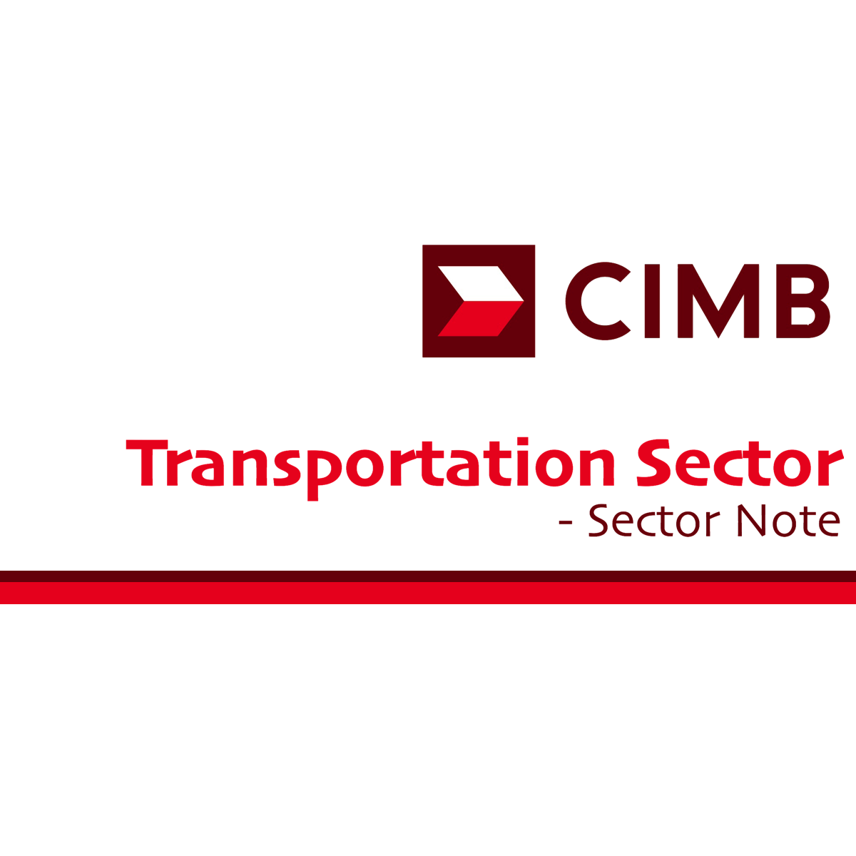 Transport Sector - CIMB Research 2017-05-30: Underweight From Neutral
