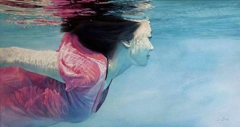 10 потрясающих картин написанных акварелью