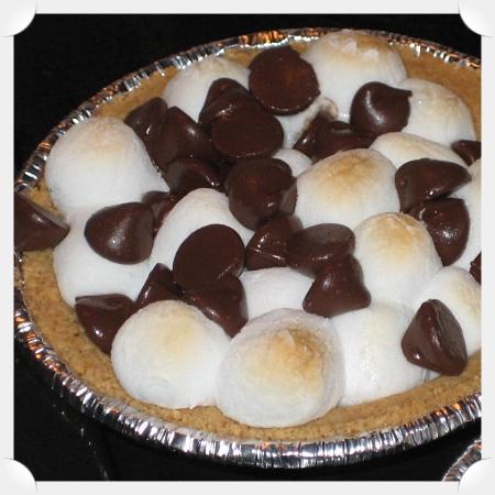S'mores Pie (single serving)