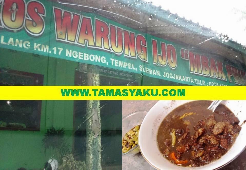 Brongkos Ijo Tempel Sleman Yogyakarta