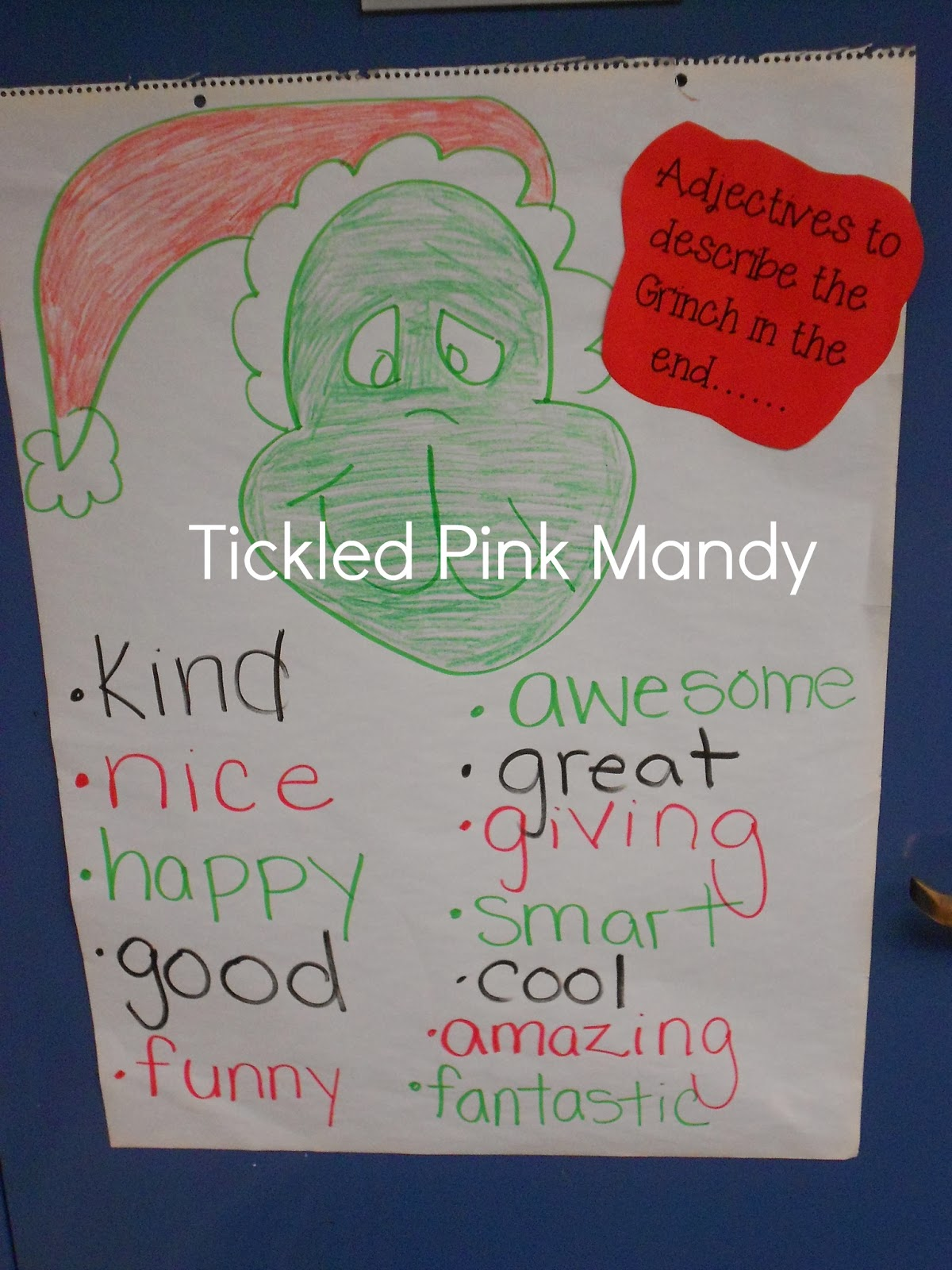 The Grinch Synonyms Worksheet