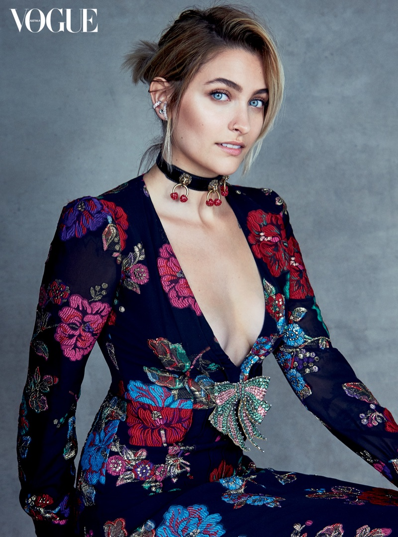 Paris Jackson Stars in Vogue Australia July 2017