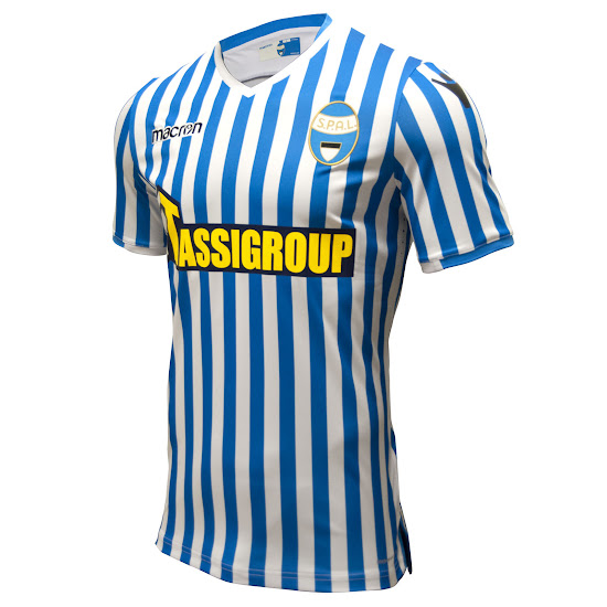 Spal 18 19 Home And Away Kits Released Footy Headlines