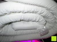 zusammengefaltet: Matratzentopper Viscoelastisch Matratzenauflage Visco Schaum 90x200cm-180x200cm - verschiedene Größen (140x200 cm)