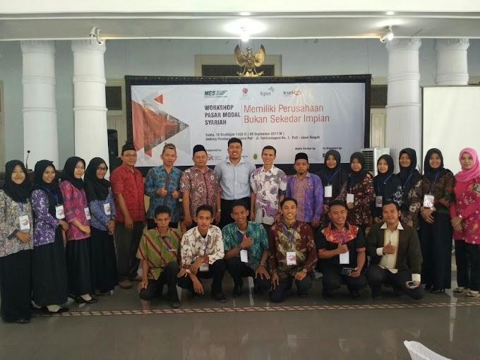 Workshop Pasar Modal Syariah Bersama MES Daerah Pati