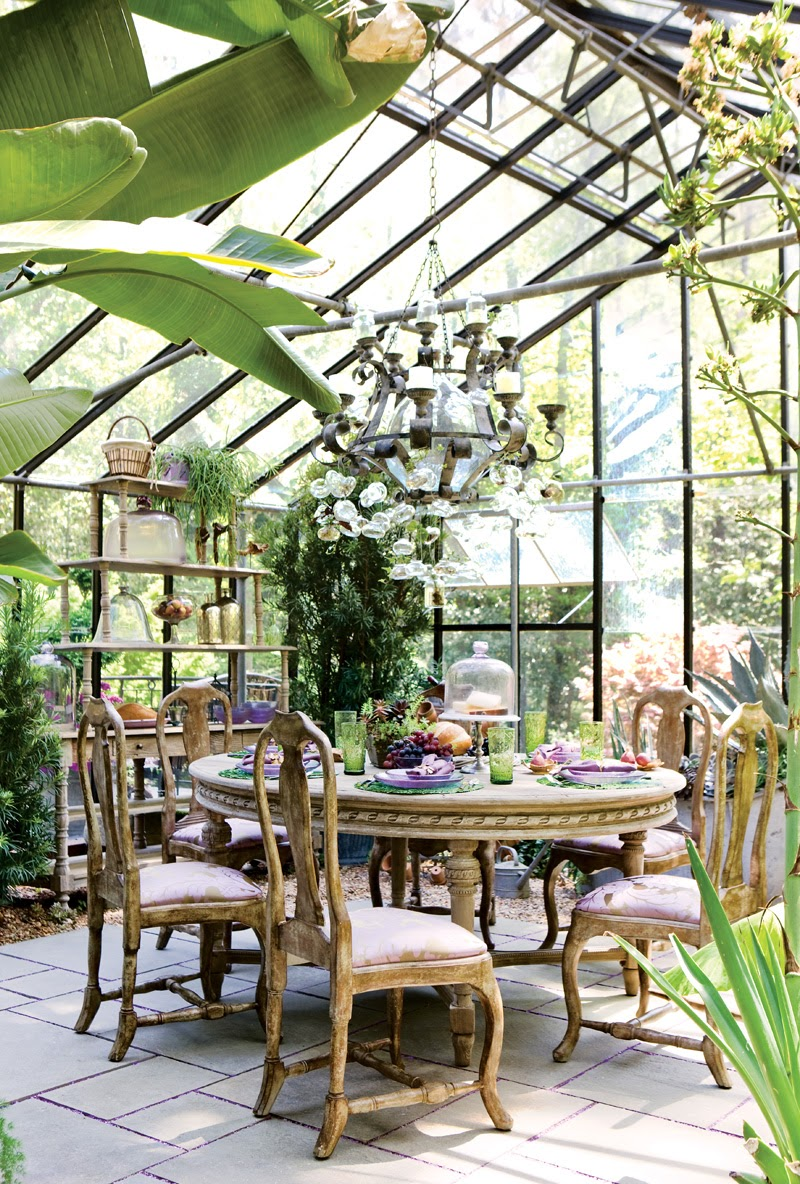 The Boundary Between Inside And Out Has Been Blurred Creating Illusion Of A Dining Room Set In Middle Garden What Perfect Way To Enjoy