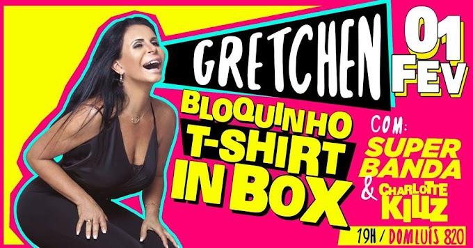 Gretchen é atração em festa gratuita no pré-carnaval de Fortaleza
