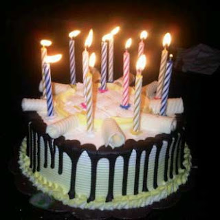 Kue Ulang Tahun Gambar Lilin Happy Birthday Cake Humor Bbm