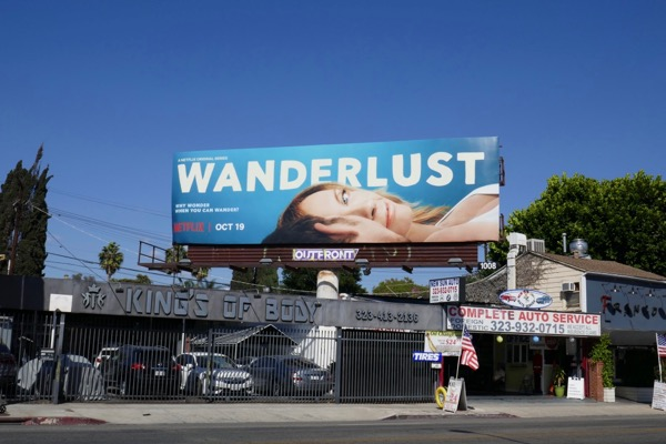 Wanderlust series billboard