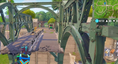 Moisty Mire, Near prison, Film Camera Locations, Fortnite, BR