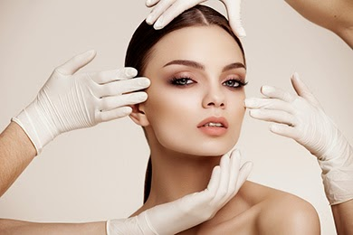 modelo de maquillaje profesional