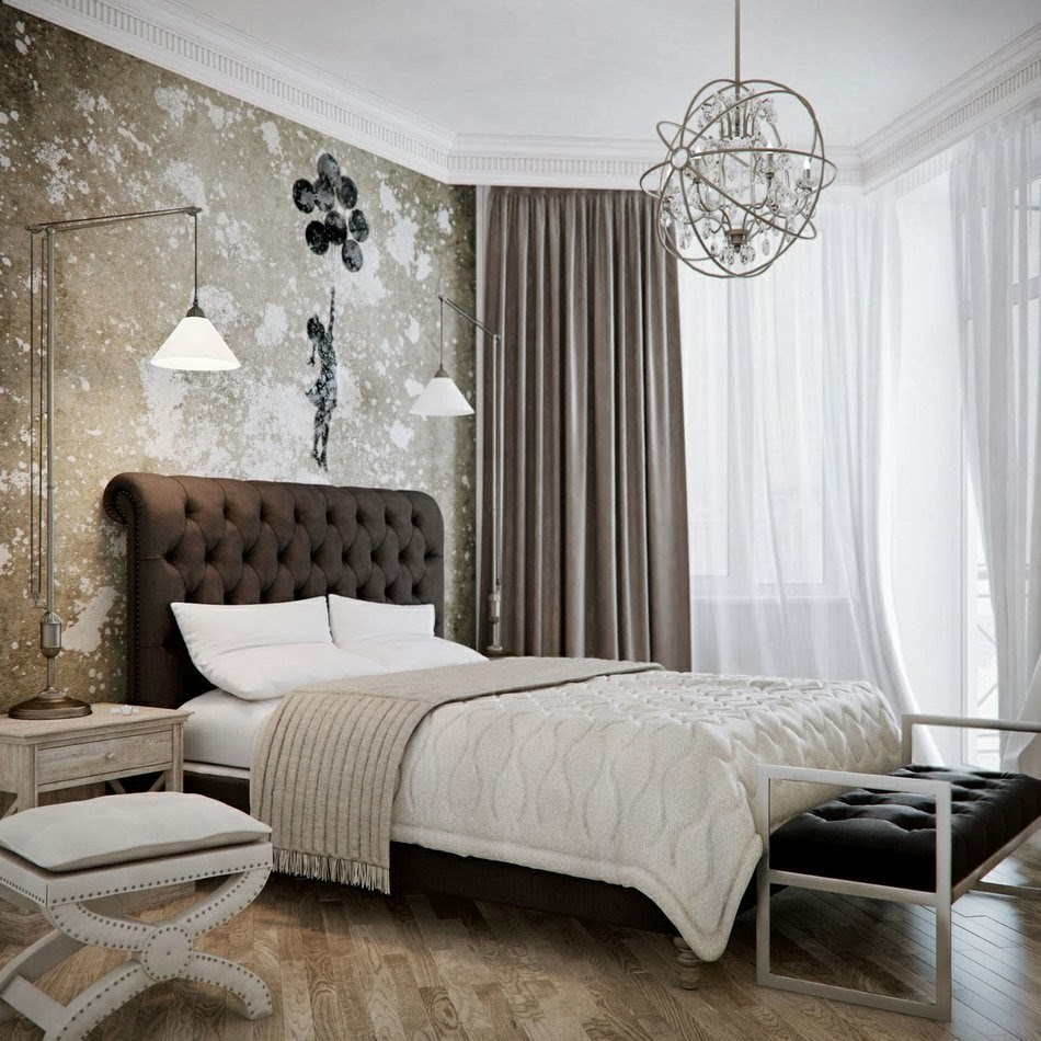 master bedroom designs in brown colors 15 design. Black Bedroom Furniture Sets. Home Design Ideas