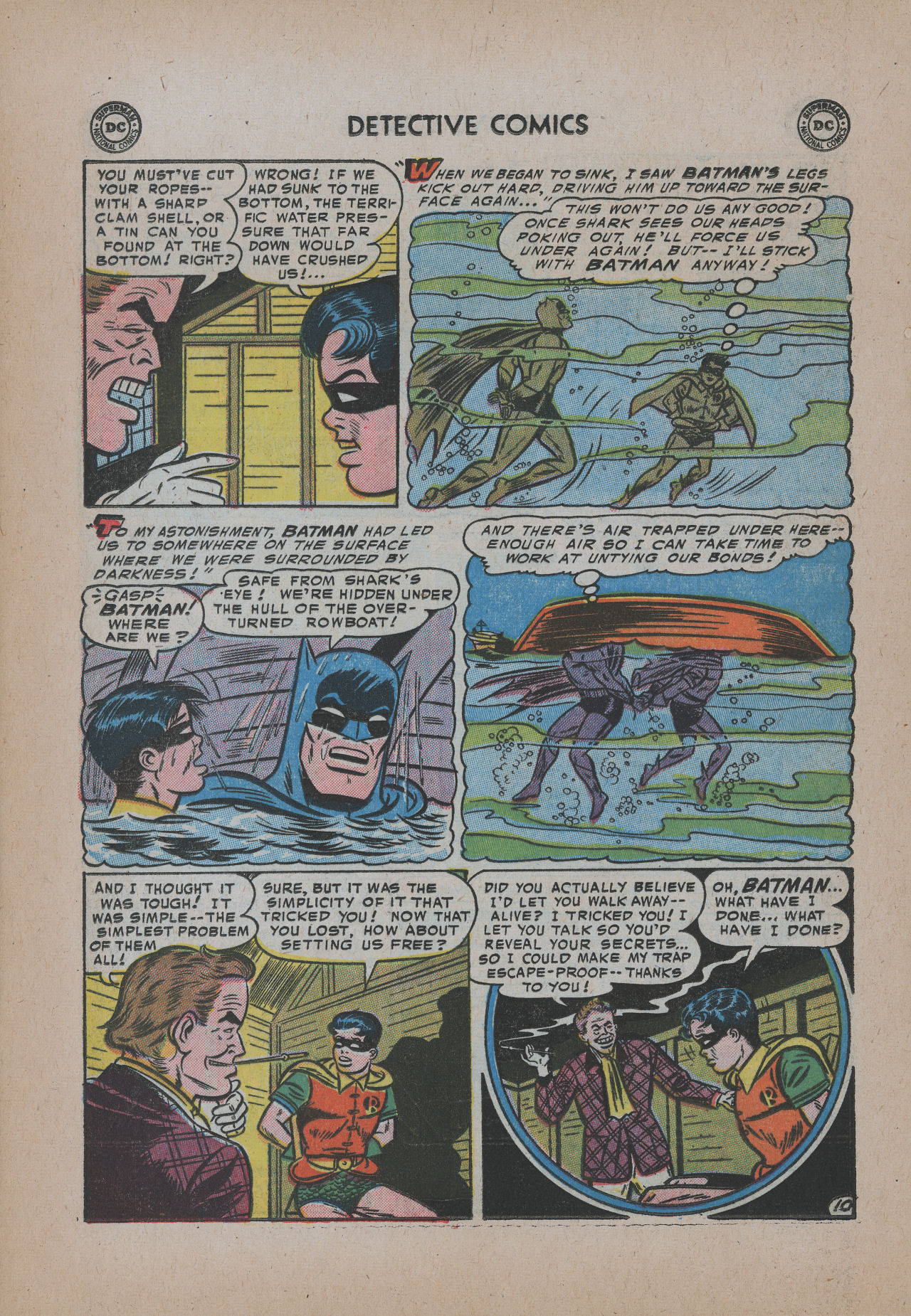 Read online Detective Comics (1937) comic -  Issue #221 - 12