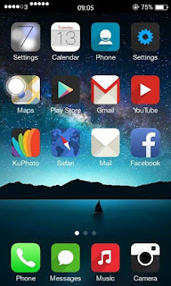 Custom Rom IOS 8 FOR ADVAN S4