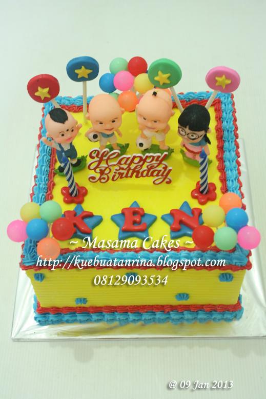 Masama Cakes Ipin Upin Birthday Cake For Ken